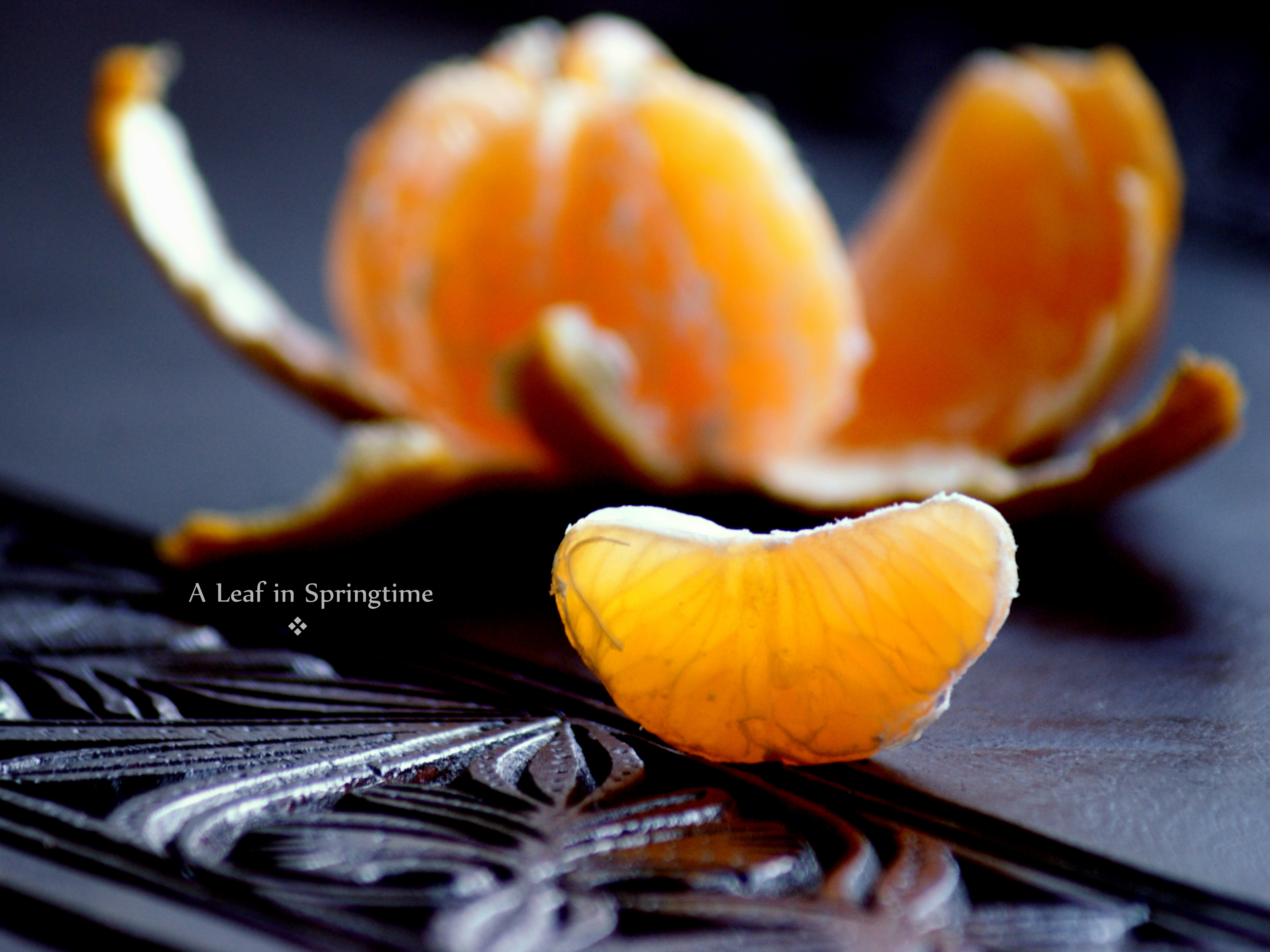 What Does It Mean To Eat A Tangerine In Awareness